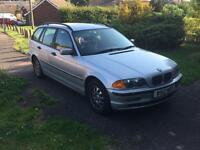 BMW 318i Estate (e46 year 2000)