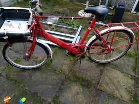 Postman bike