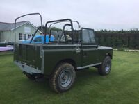 "Land Rover Series IIA. 1968 88"" SWB. Unfinished Project. Just needs final assembly."
