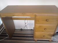Wooden dressing table/desk