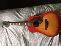 1970 kiso Suzuki 9653 12 string guitar