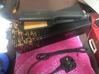 Wide plate GHD hair straighteners £50 excellent condition ( free delivery ).