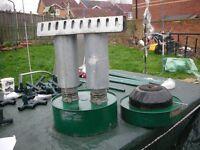 Parasene Paraffin Greenhouse Heater Super Warm 5 Model 682 Double Burners