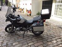 2007 BMW GS1200 full genuine bmw luggage panniers R1200GS