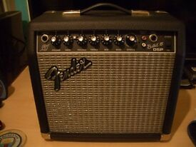 "Fender Bullet 15DSP Electric Guitar Amplifier As New SWAP For Flat Screen TV 32"" - 42"""