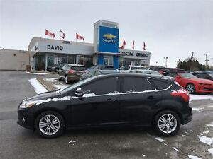 2012 Ford Focus SEL 5DR HATCH, LEATHER, AS TRADED!!