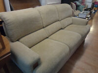 G plan 3 seater/2seater/1 armchair ex con cream