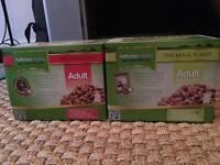 Cat wet food: 9 boxes of natures: menu
