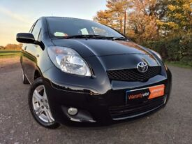 2010 (60) TOYOTA YARIS 1.4 D-4D DIESEL TR 5DR HATCHBACK CALL NOW TO RESERVE
