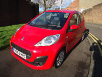 2013 PEUGEOT 107 ACCESS 1.LITER PETROL ONLY 26K MILEAGE 0% ROAD TAX 2 FORMER ...