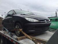 2003 Peugeot 206 1.4 HDI Spares or repair