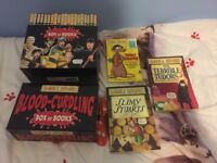 NEW BOXED BOX COMPLETE SET OF 23 BLOOD CURDLING HORRIBLE HISTORY HISTORIES BOOKS FREE DELIVERY