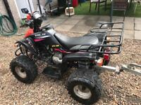 Cheap road legal quad 12 months mot ready to go