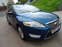 FORD MONDEO 2.0 GHIA TDCI 5d 140 BHP Service Record MOT April 2018.