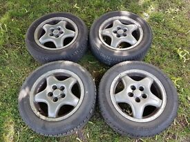 15 inch rims w/ extra snow tires
