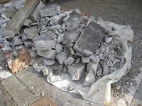 Rubble and part-blocks