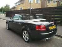 2008 AUDI S4 CABRIOLET 4.2 TIPTRONIC QUATTRO 2DR (EXCELLENT CONDITION AND TOP SPEC)