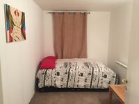 great double room for a single person