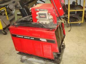Lincoln Double Head Mig Welder