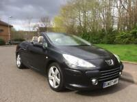 PEUGEOT 307, SPORT CABRIOLET DIESEL , TIMING BELT DONE , PART SERVICE HISTORY