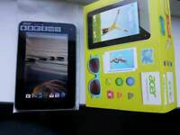 Acer iconia tablet 7 inches screen
