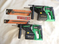 HITACHI 24V SDS TWIN SET *** BRAND NEW ***