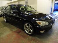 2003 Lexus IS200 SE 6 Speed Manual, FSH + Long MOT + 1/2 Leather