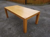 Large 2m Oak Dining Table FREE DELIVERY 741