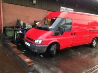 Transit van lwb 2002 with a new mot