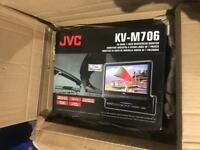 "Jvc Kv-m706 Flip Out Screen In Dash Motorised 7"" Monitor Brand New Never Opened"
