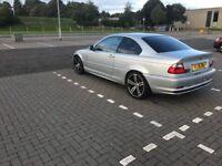 Silver 2001 BMW e46 330ci, no MOT no Tax