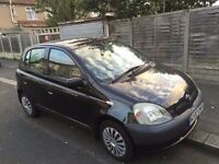 Toyota Yaris 2002, 5 Door, Black, MUST SEE !!