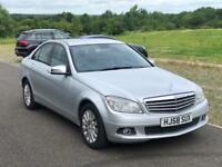 Mercedes C220 CDI Elegance, Diesel,3 Months Warranty,F Service History,1 P Owner, Just Serviced