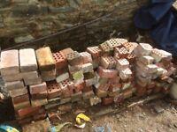 Reclaimed Bricks - Whole and half bricks. Free