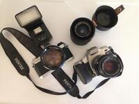PENTAX Camera bundle, collection only.
