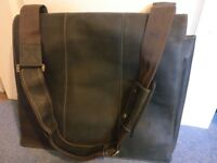 Visconti Extra Large Laptop Bag, 17inch, Hunter Leather, 16019 XL