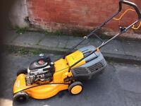 "20"" petrol lawn mower hand propelled"