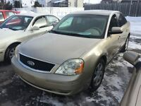 2005 Ford Five Hundred SE  FINANCEMENT MAISON
