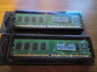 2 x 2GB HP PC2-6400 DDR2 Memory for Server systems