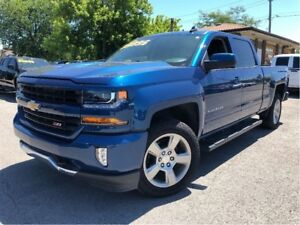 2017 Chevrolet Silverado 1500 LT LEATHER CREW Z-71 CHROME NAV 4x