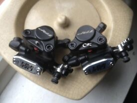 Trp hydro disc brakes set