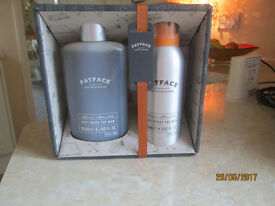 NEW..FAT FACE GIFT SET, BODY WASH AND BODY SPRAY..LEEDS