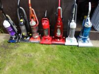 6left hoovers for sale all makes working
