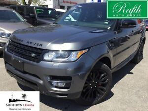 2014 Land Rover Range Rover Sport V8-Supercharged-DVD-Self parki
