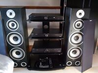 Tibo Audio Stack System And Stand For Sale