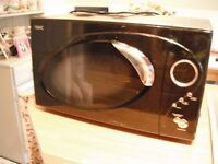 Next 800 W black and Silver Microwave