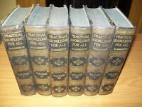 Practical Knowledge for All, Hammerton, Full Set, Volumes 1 - 6. Book Collector.