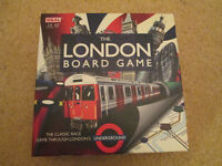 The London Game board game as-new condition