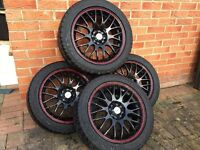 Calibre Motion Alloy Wheels with Tyres (195/50R15)