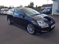 Honda Civic Type R, Black, 2004, 1 Lady Owner From New